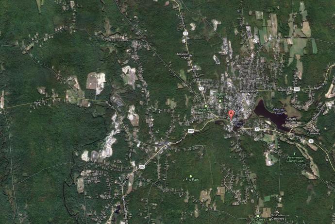 Winchendon MA Aerial View